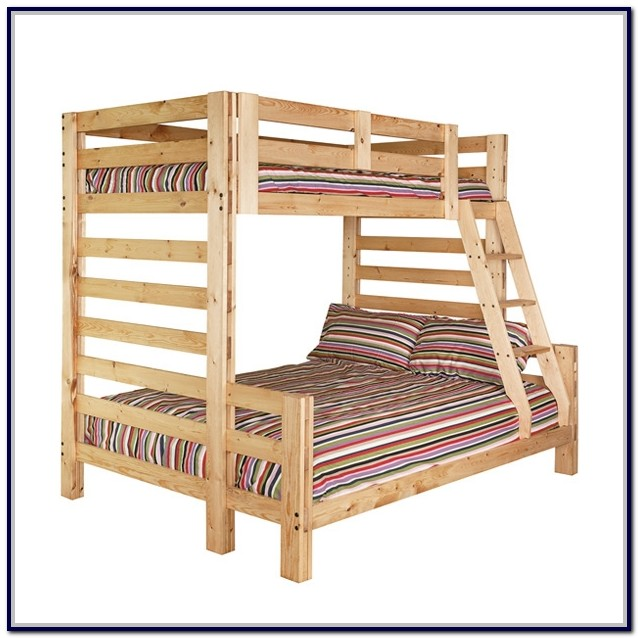 Twin Over Full Solid Wood Bunk Bed