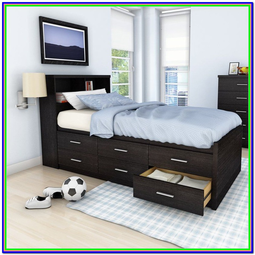 Twin Xl Platform Bed With Storage Ikea