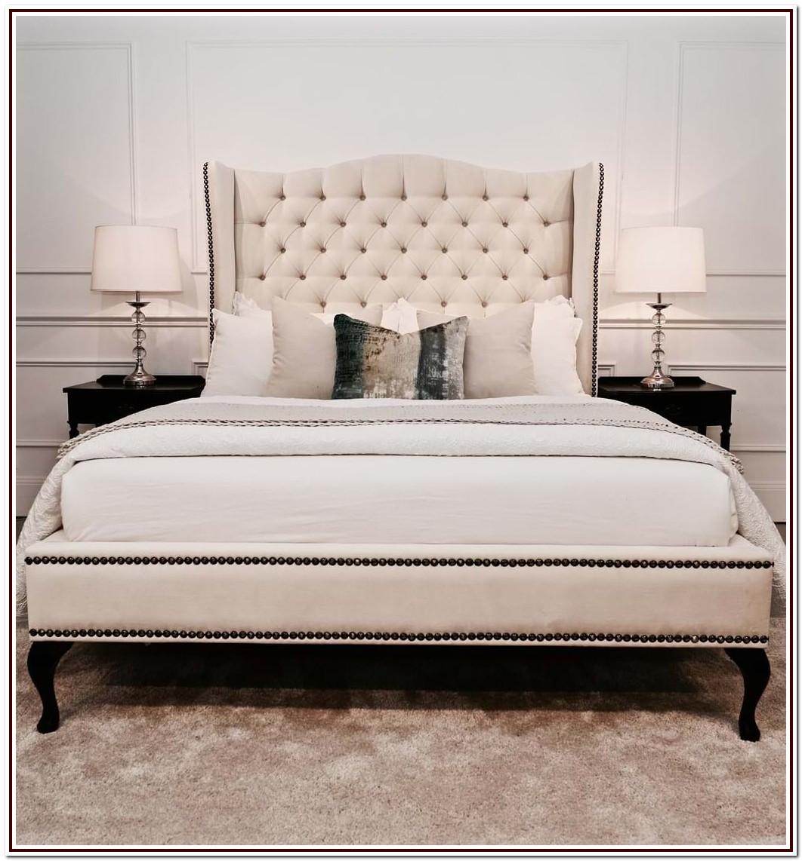 Upholstered King Bed Frame Australia