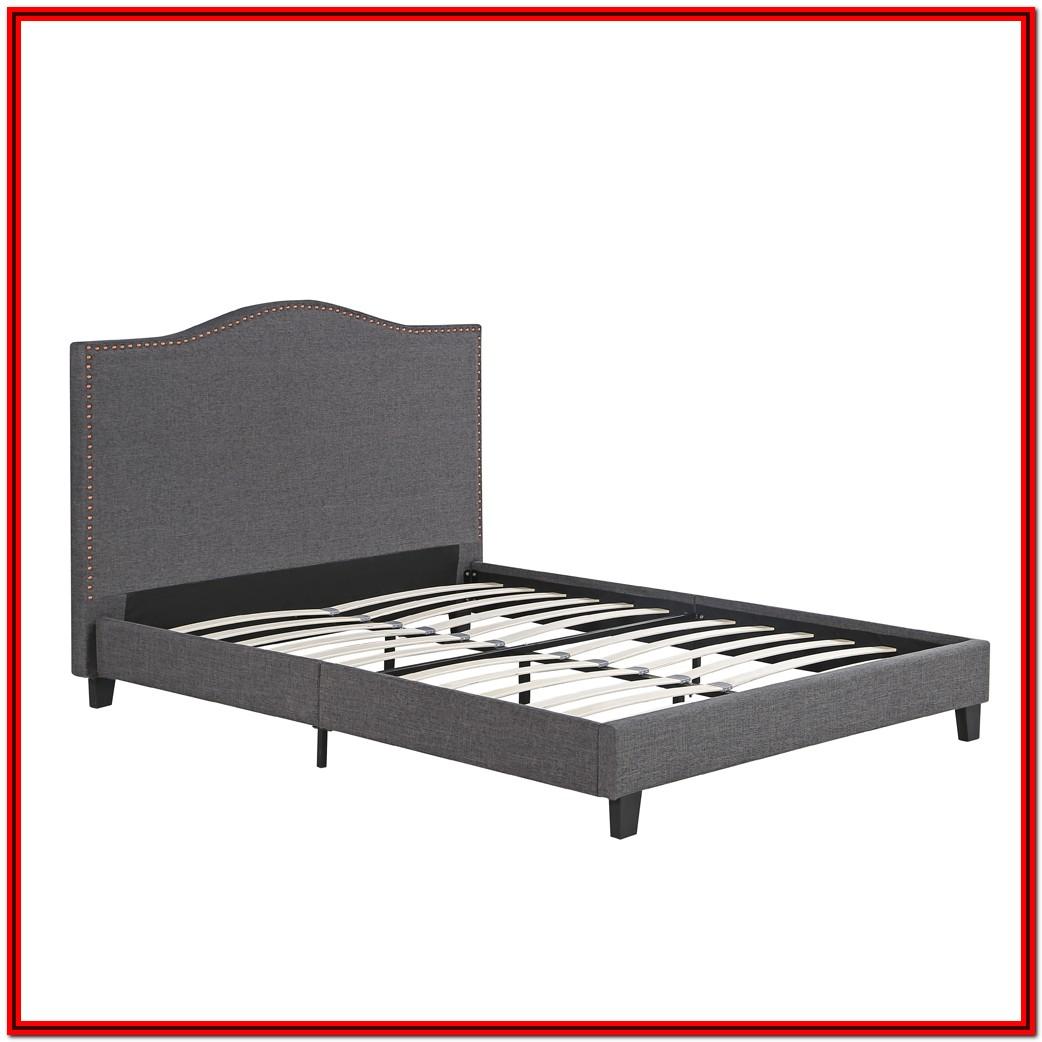 Upholstered Platform King Bed Frame