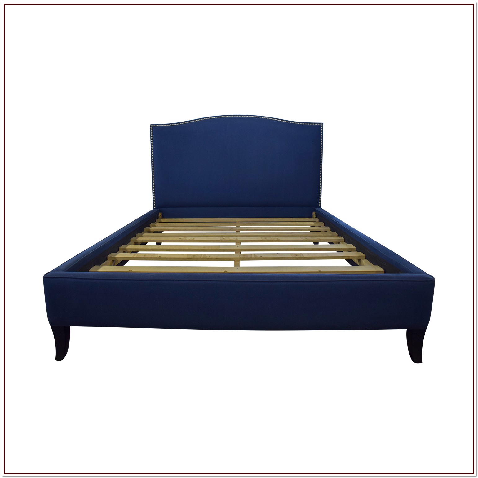 Upholstered Platform Queen Bed Frame