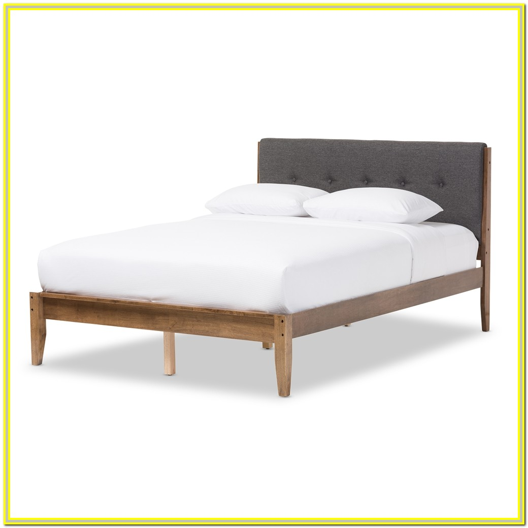 West Elm Mid Century Bed Frame King Size