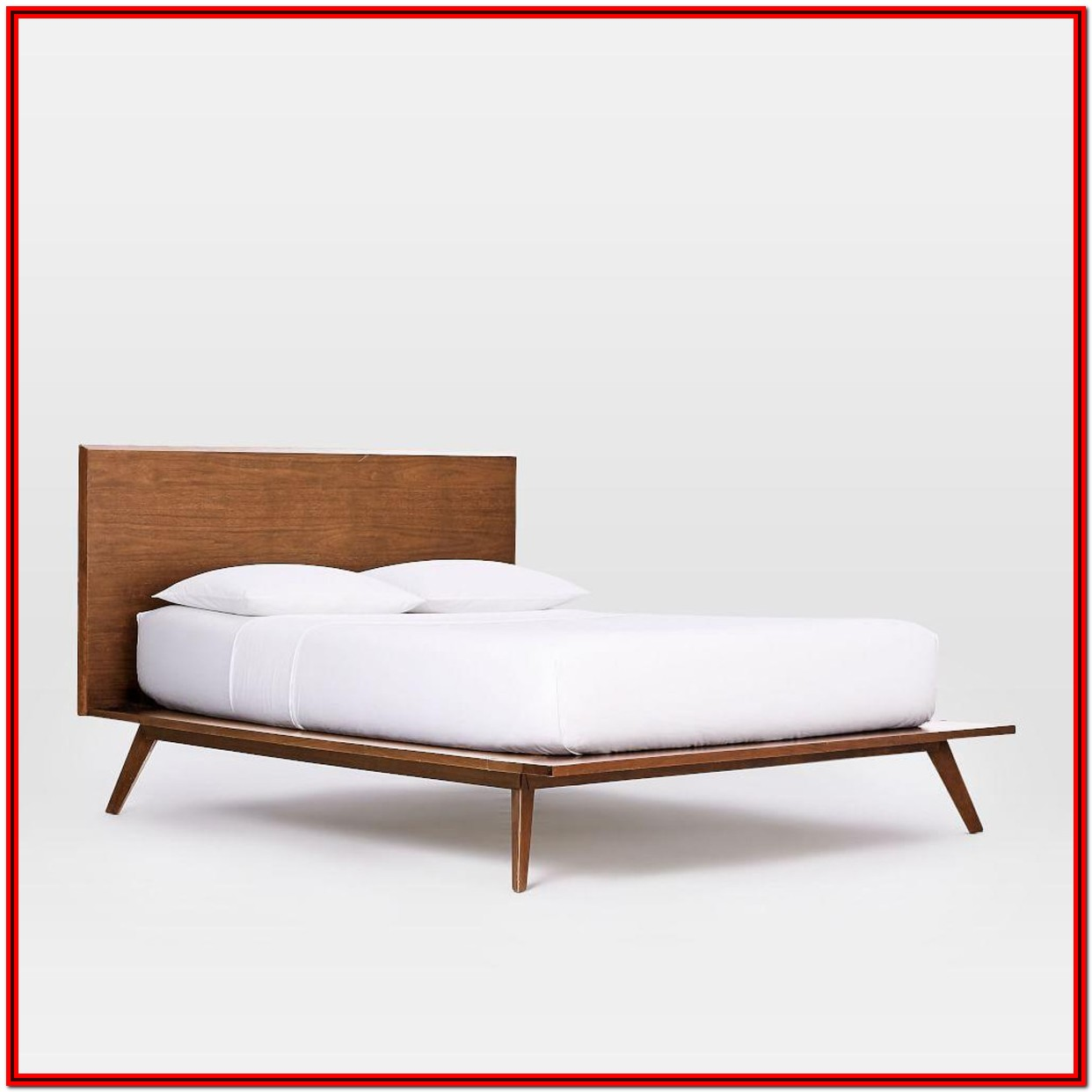 West Elm Platform Bed King