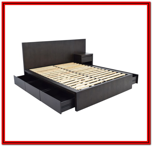 West Elm Platform Bed Queen