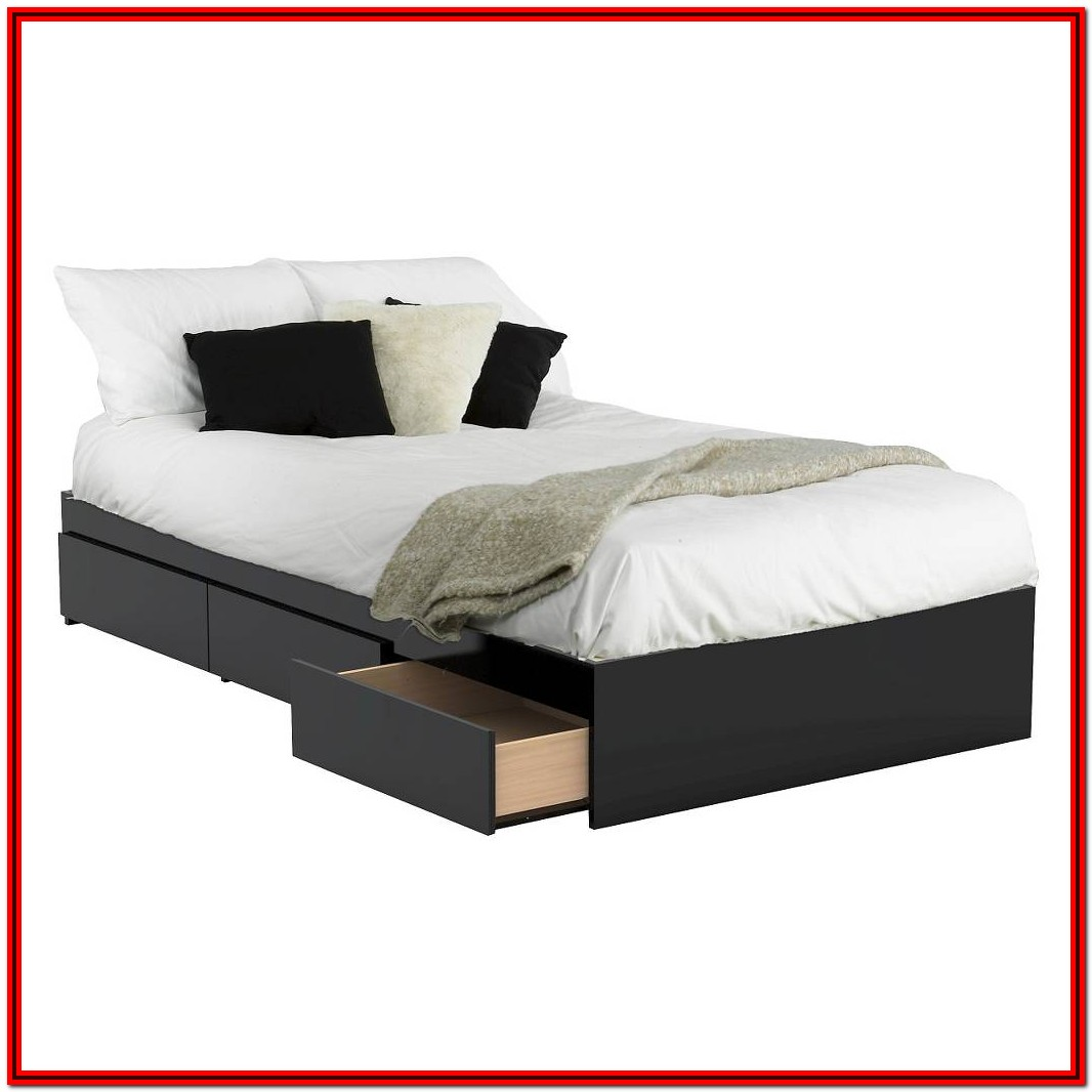 West Elm Platform Bed Twin