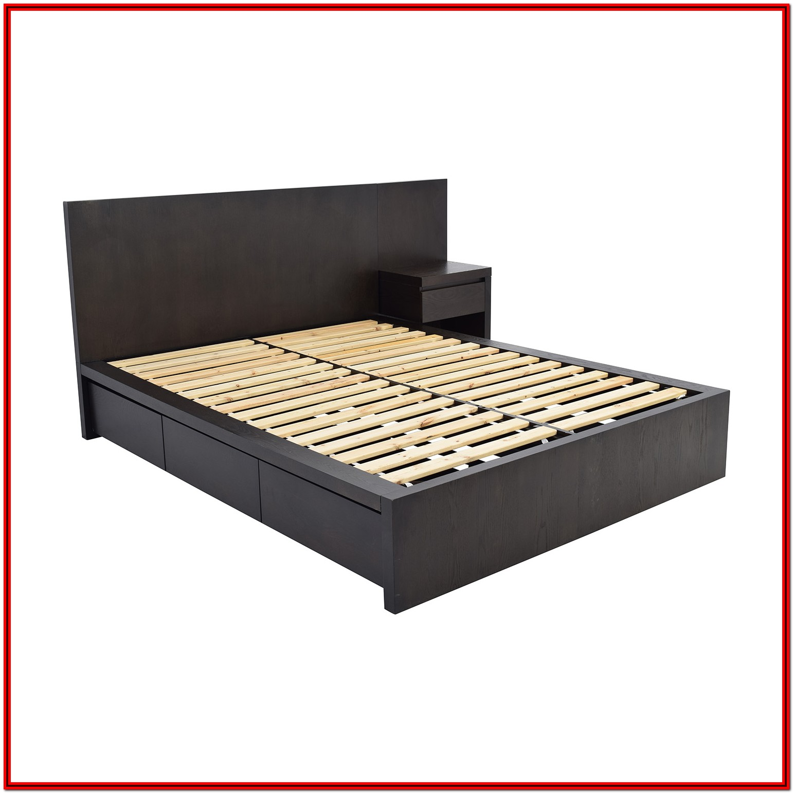 West Elm Platform Bed With Storage