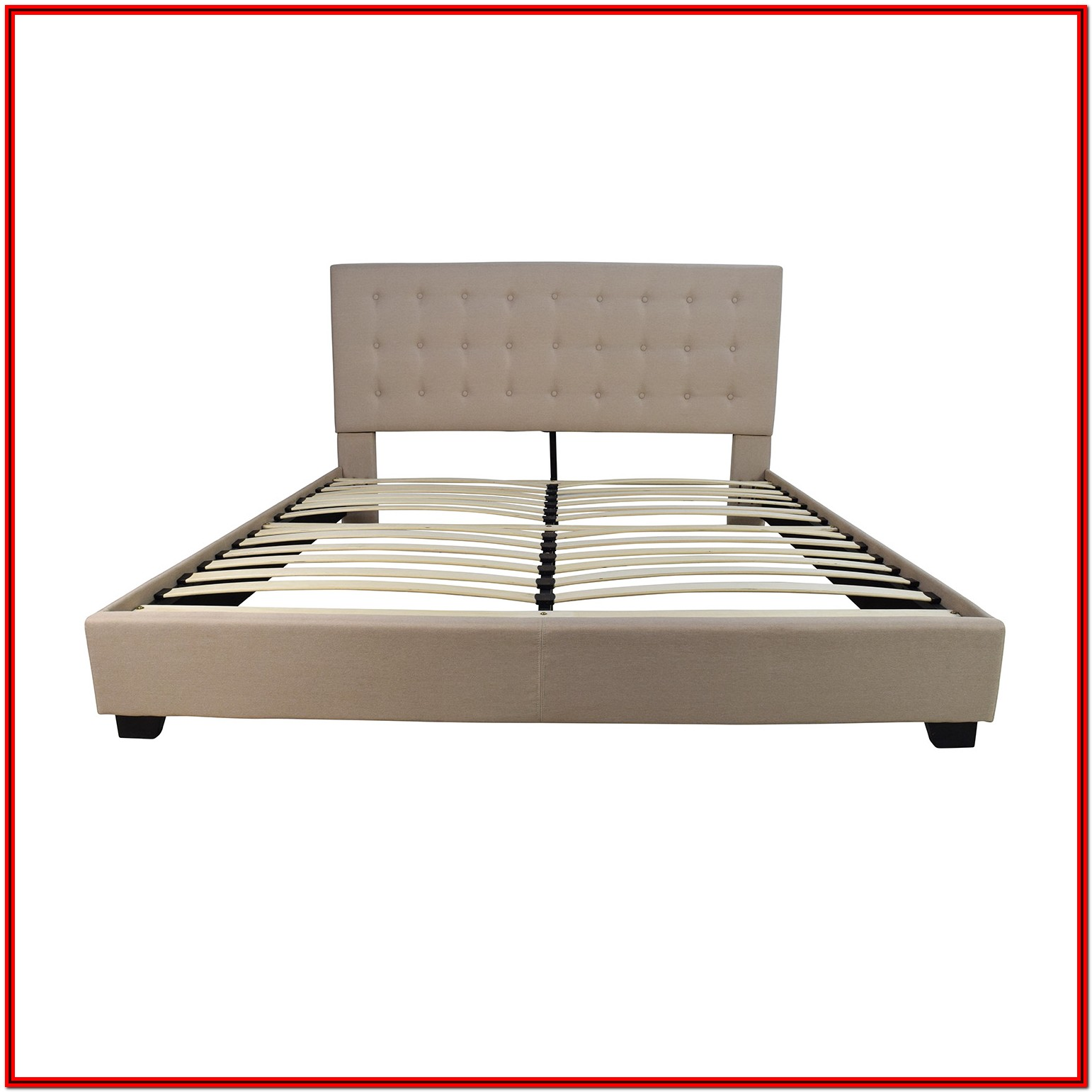 White Wooden Bed Frame King Size Ikea
