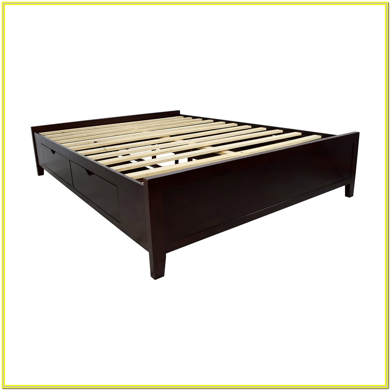 Wood Queen Bed Frame Dimensions