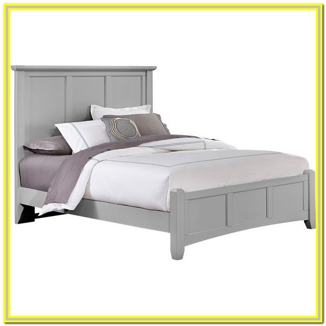 Wood Queen Bed Frame White