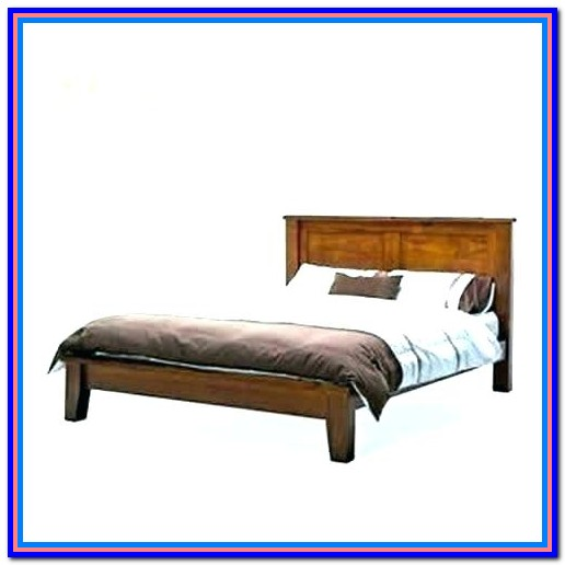 Wood Slat Bed Frame Cal King