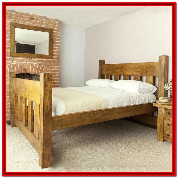 Wooden Bed Frame King Size Uk