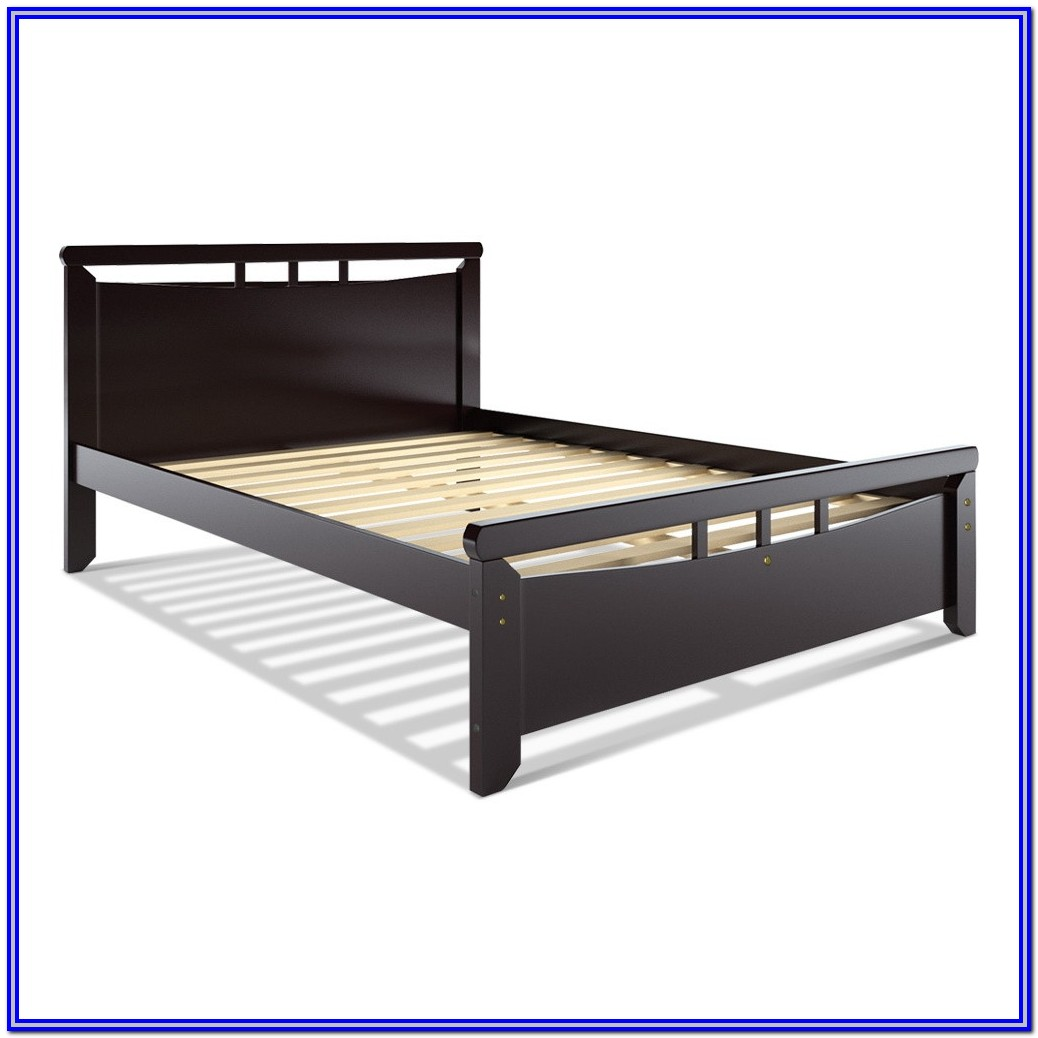 Wooden Platform Bed Frame Queen
