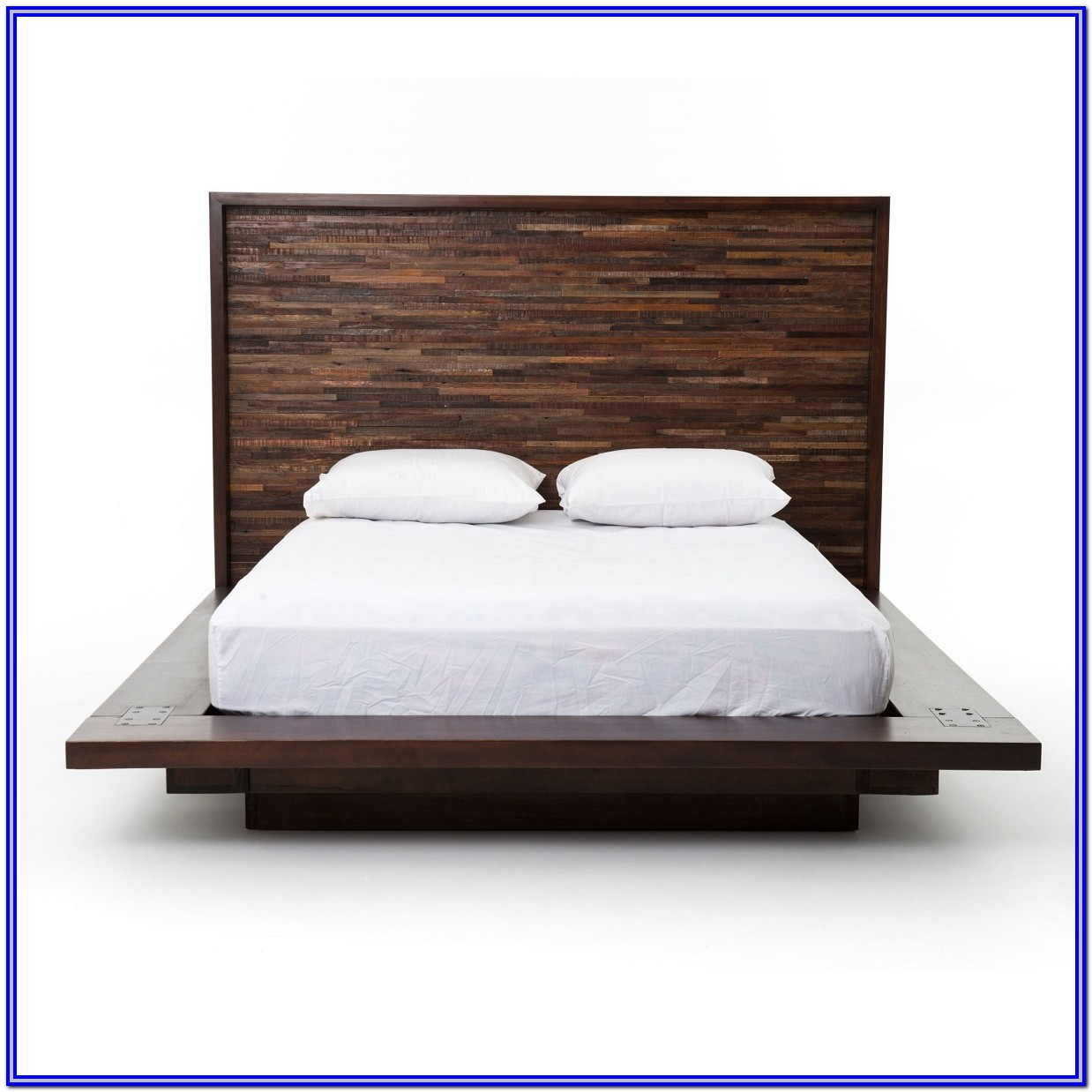 Wooden Platform Bed Frames Queen
