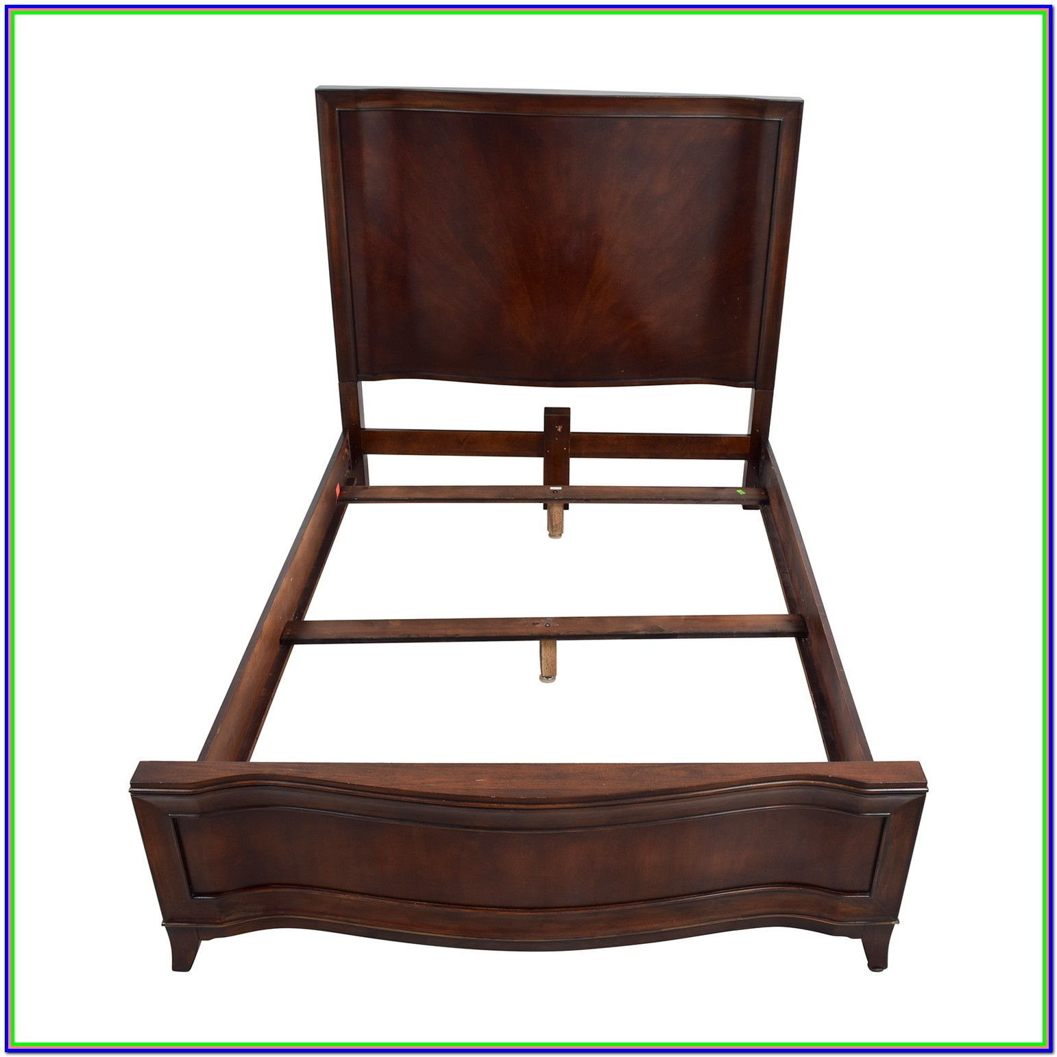 Wooden Queen Bed Frame Set
