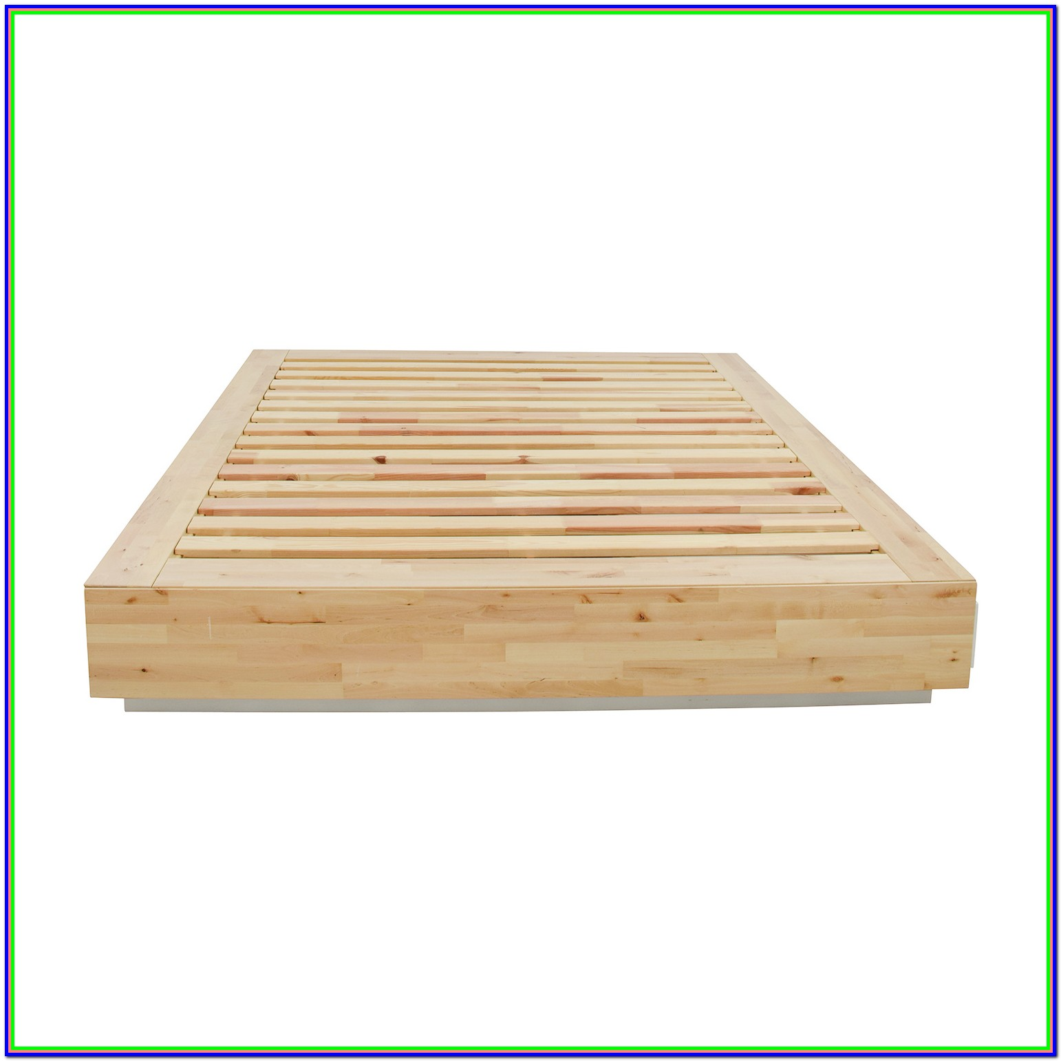 Wooden Queen Bed Frame With Storage