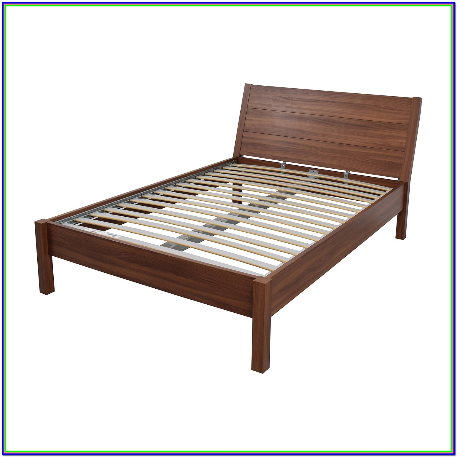 Wooden Queen Platform Bed Frame