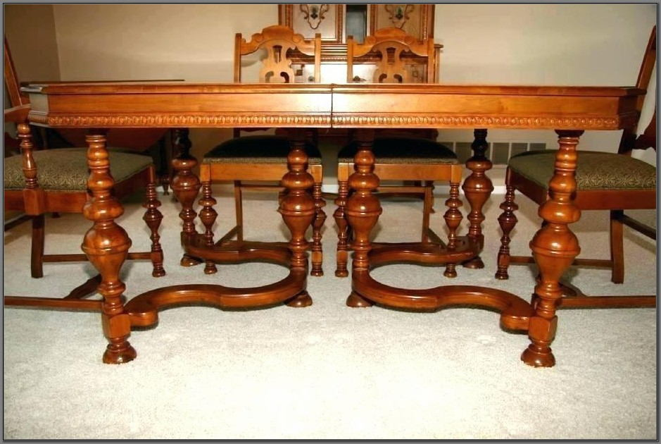 1920s Jacobean Dining Room Set