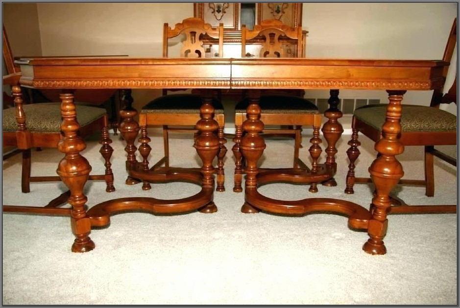 1920s Jacobean Dining Room Set