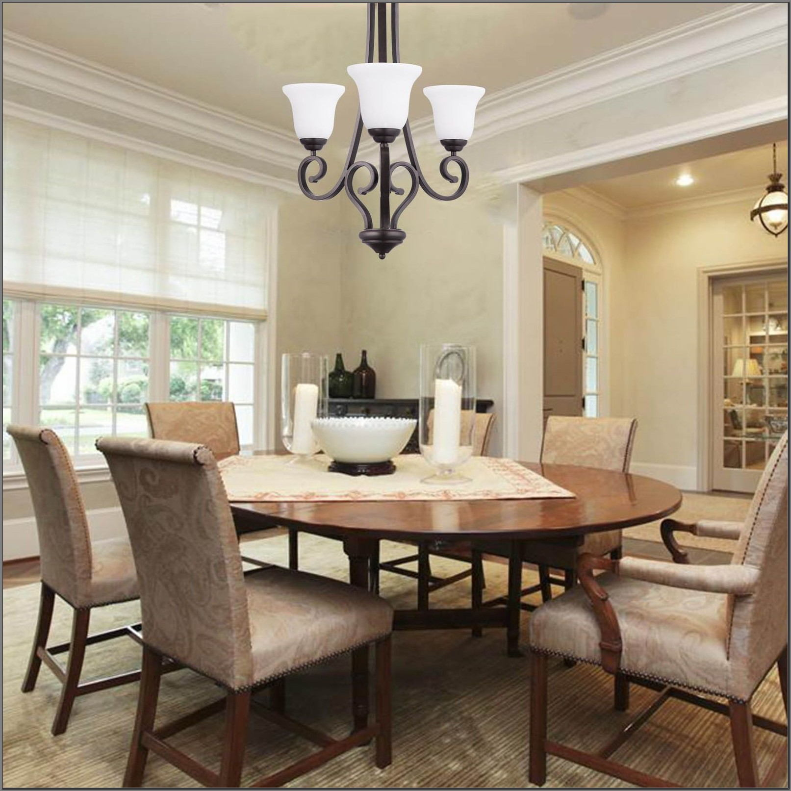 3 Light Dining Room Fixture