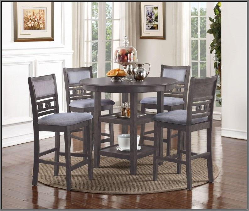 5 Piece Gray Dining Room Set