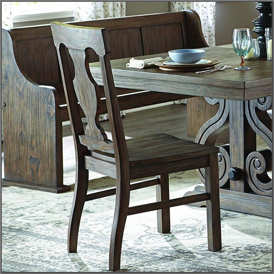 6 Piece Oak Dining Room Set