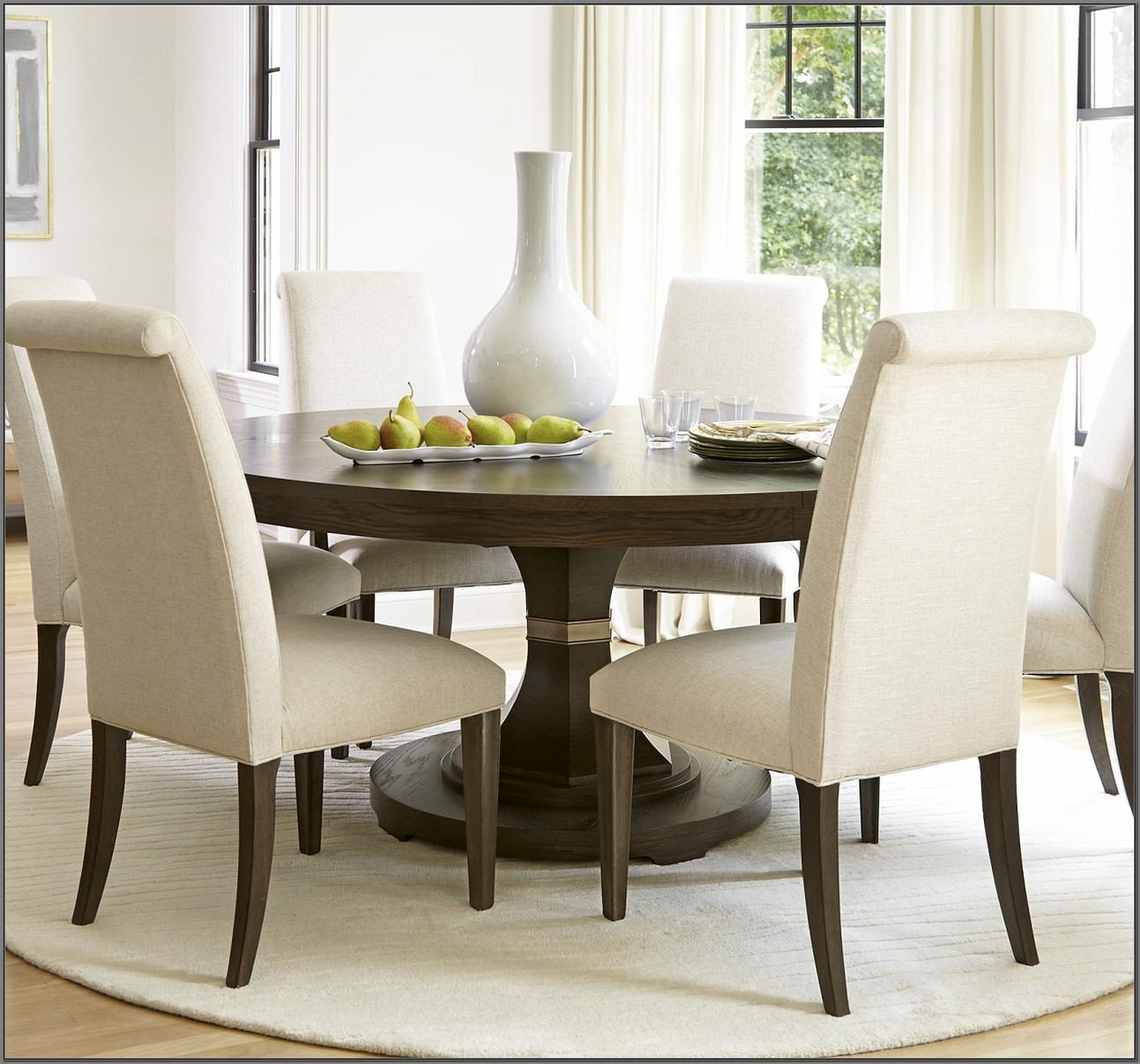 7 Piece Round Dining Room Set