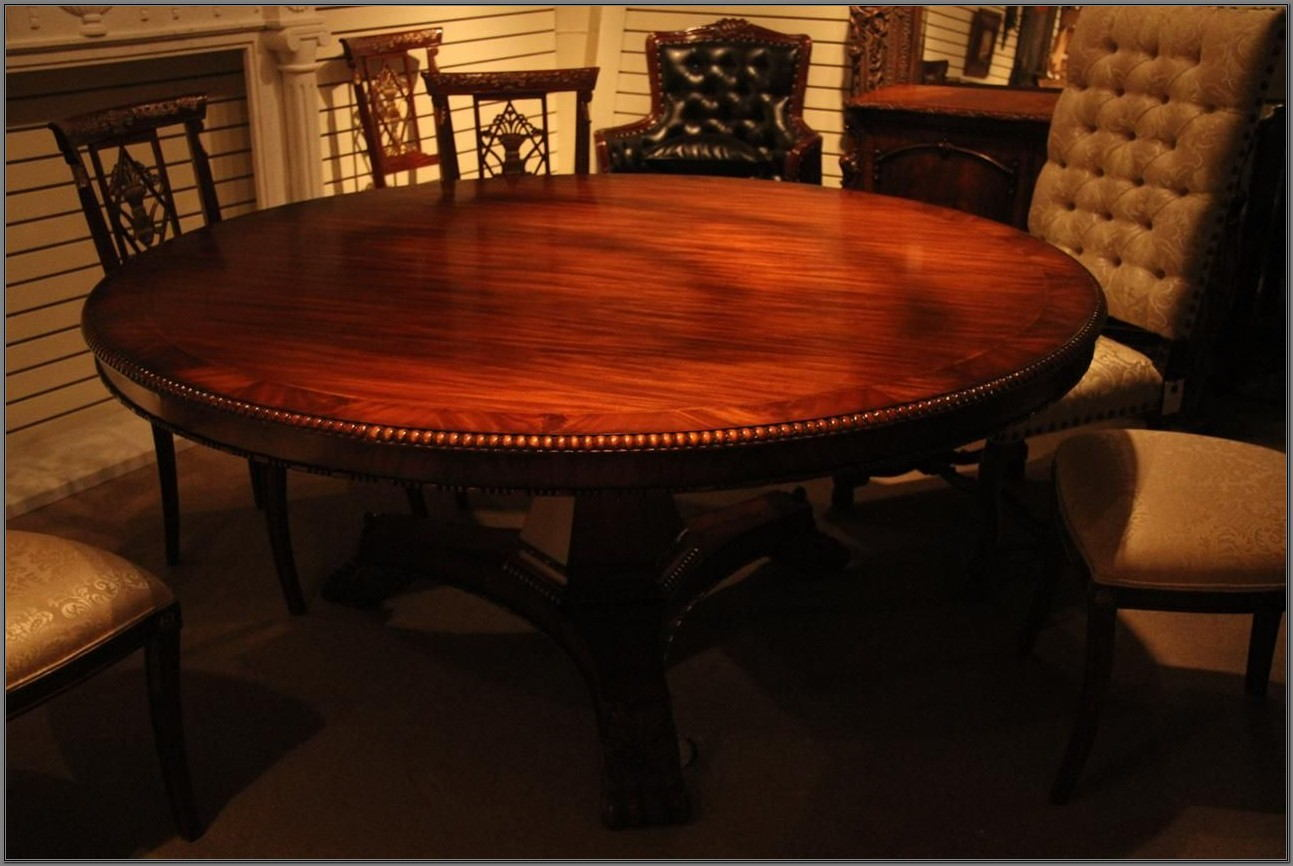72 Inch Round Dining Room Table