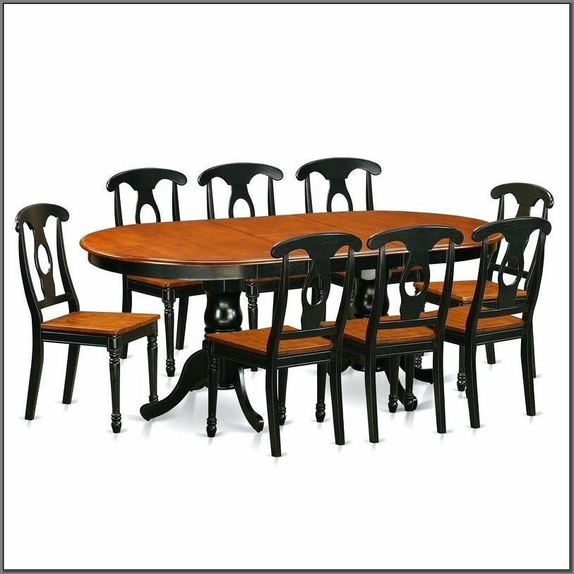 9 Piece Dining Room Set With Leaf