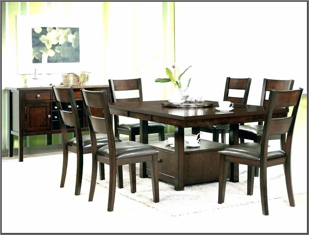 9 Piece Square Dining Room Set