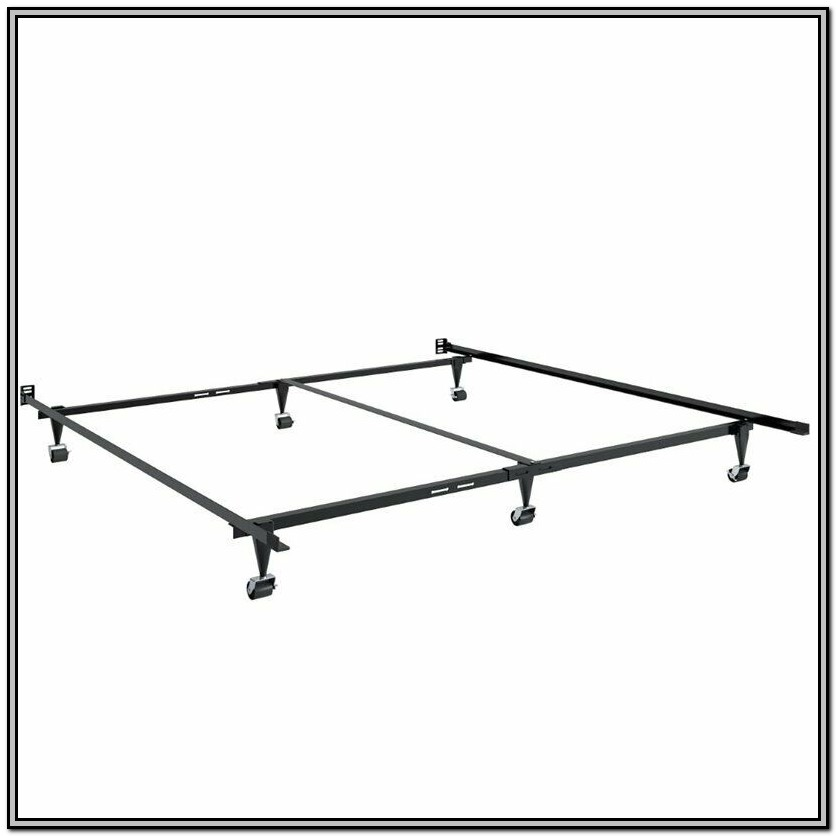 Adjustable Metal Bed Frame Queen