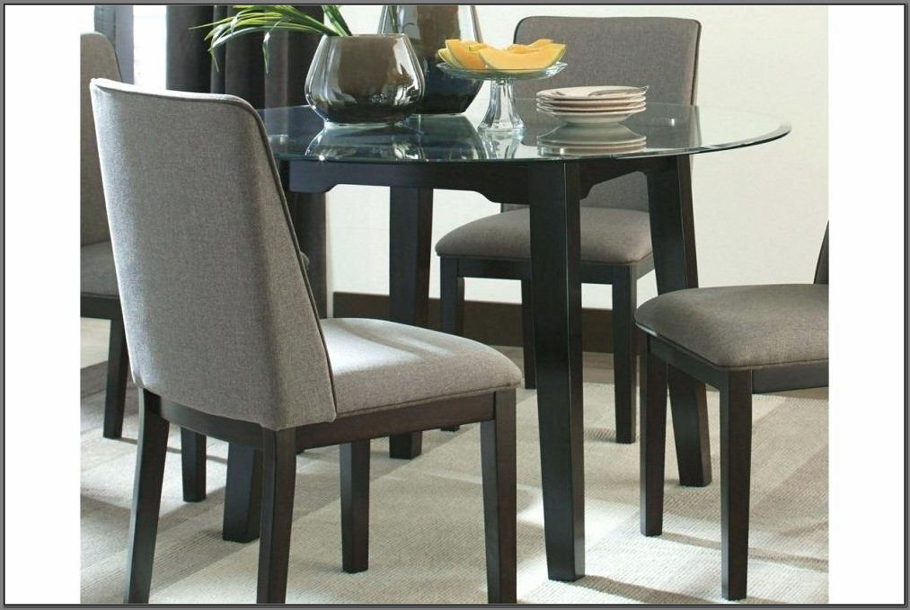 Ashley Furniture Glass Dining Room Sets