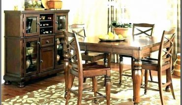Ashley Furniture Leather Dining Room Chairs