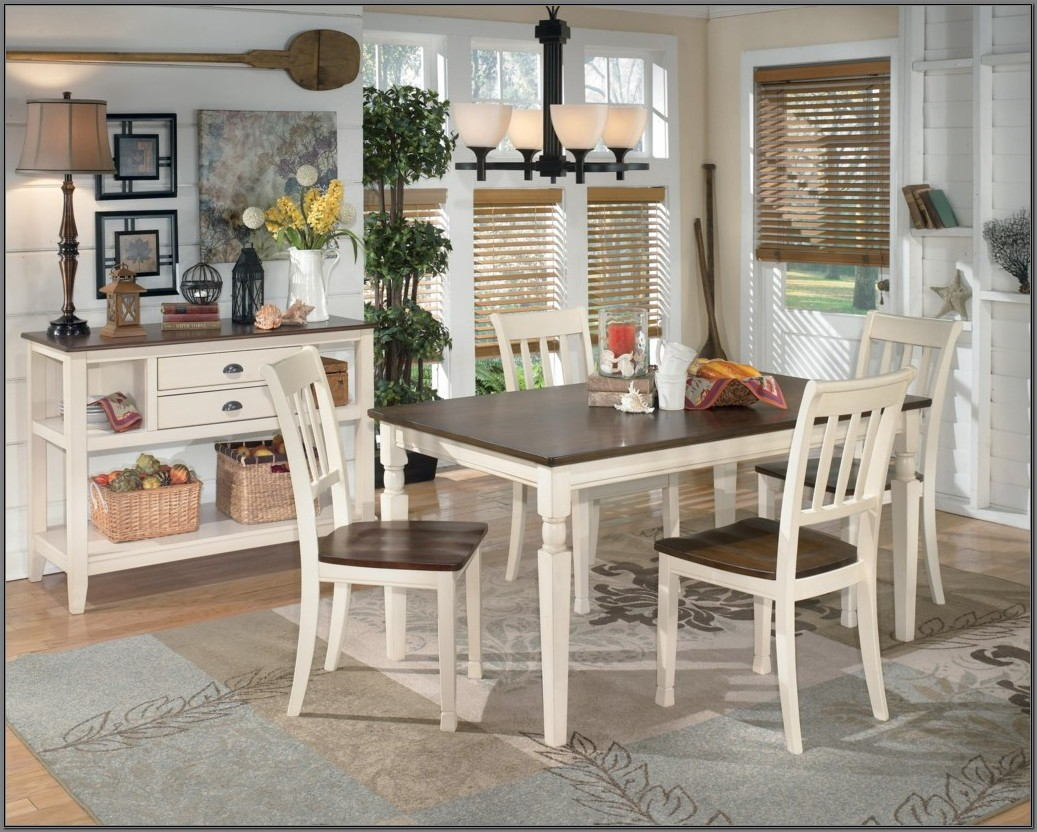 Ashley Whitesburg Dining Room Table