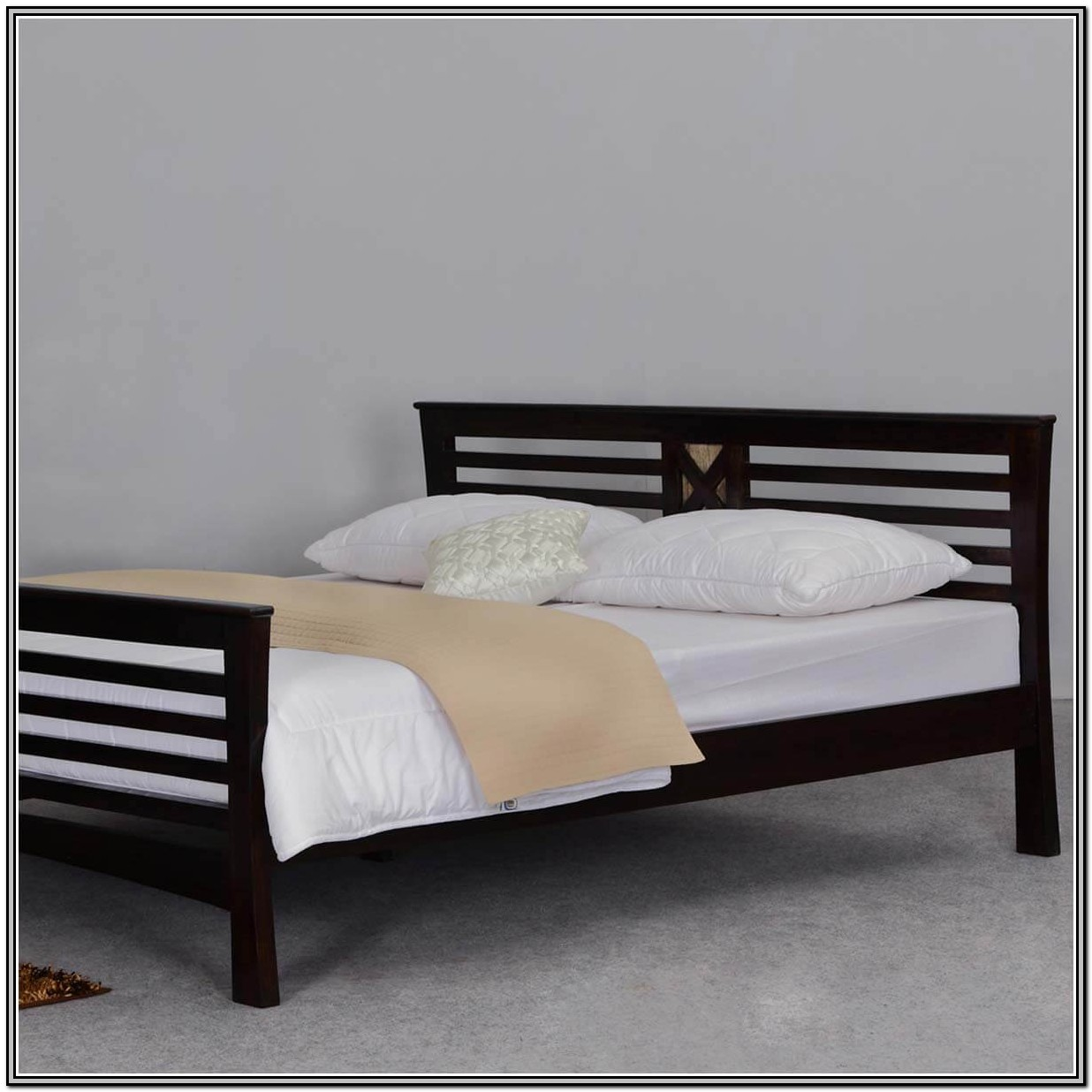 Bed Frame With Headboard And Footboard Queen