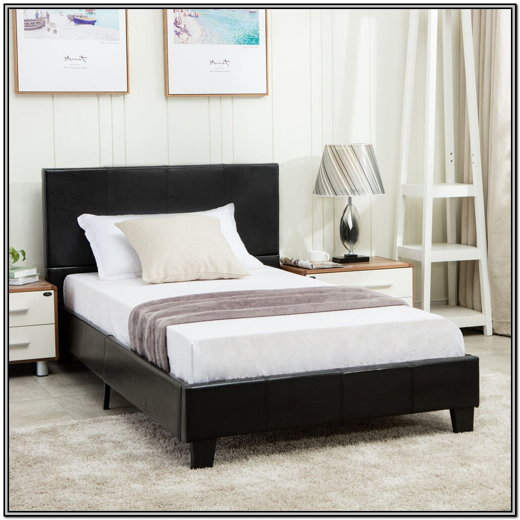 Bed Frames With Headboard Twin