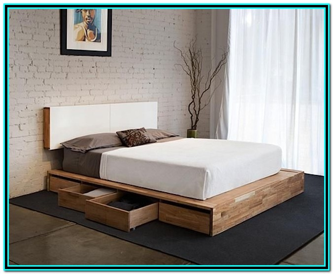Bed With Drawers On One Side