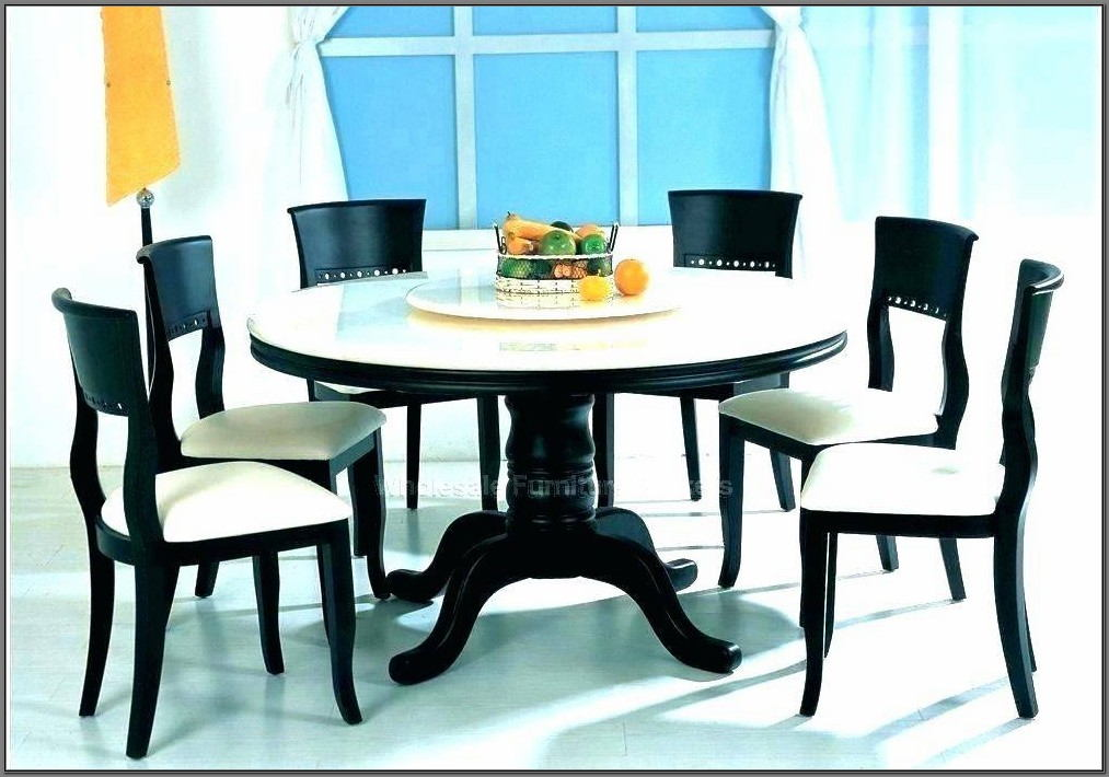 Black Marble Dining Room Sets