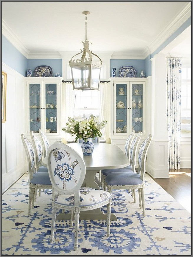 Blue Paint For Dining Room
