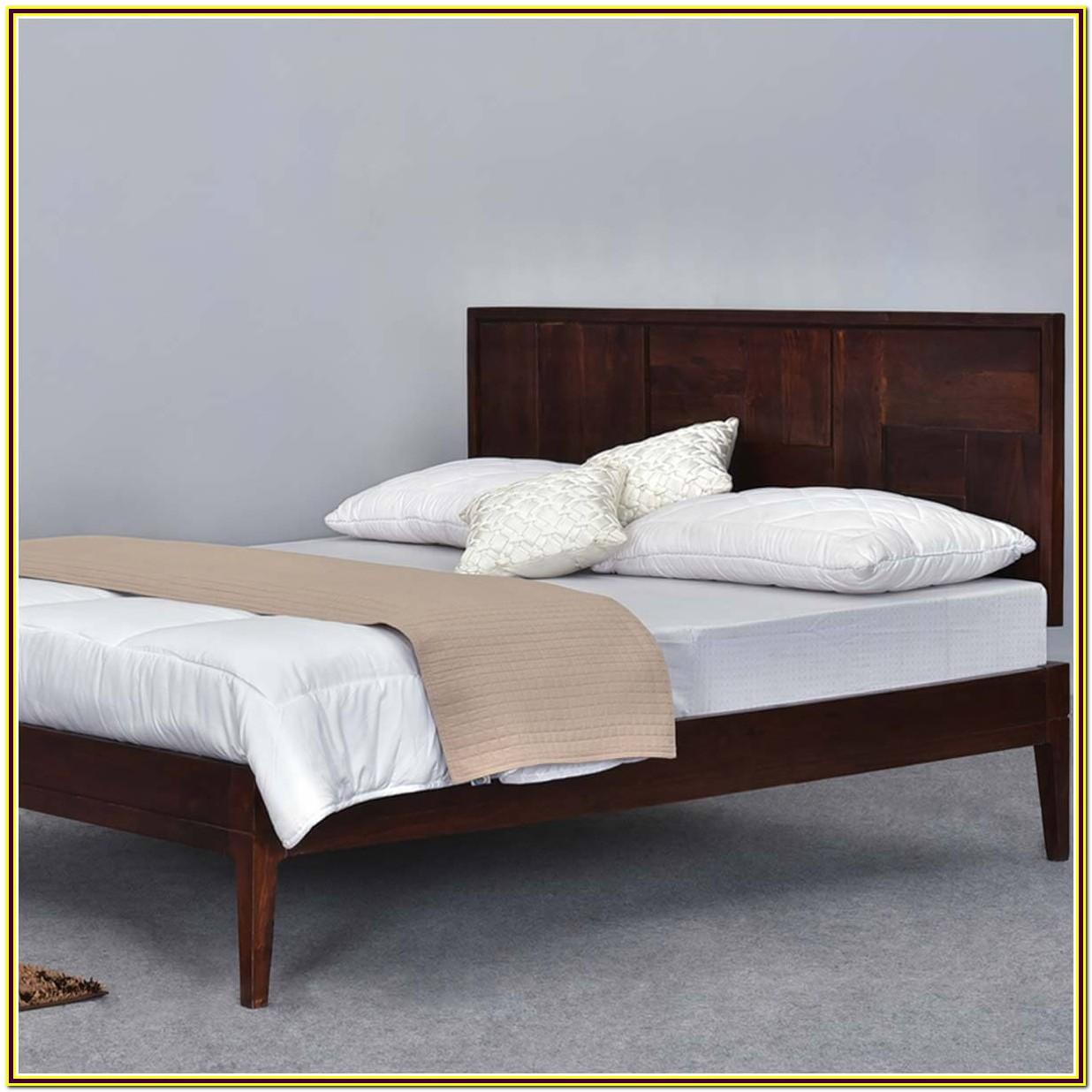 Cal King Platform Bed Frame Wood