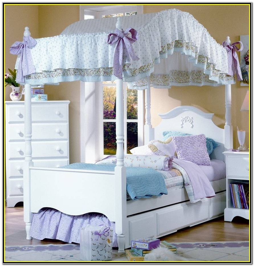 Canopy Bed For Girl Full Size