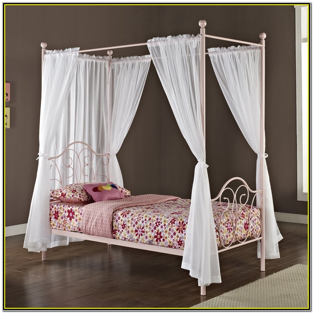 Canopy Bed For Girl Walmart