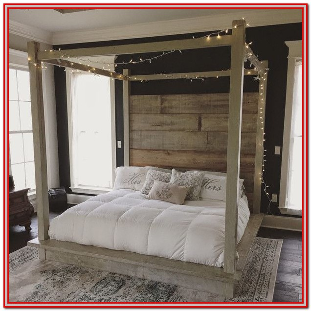 Canopy Bed King Size
