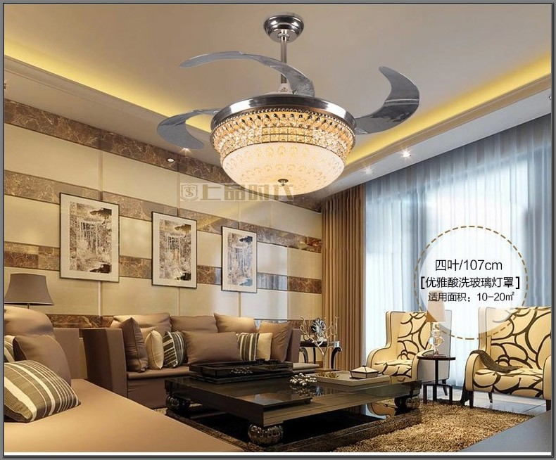 Ceiling Fan Over Dining Room Table