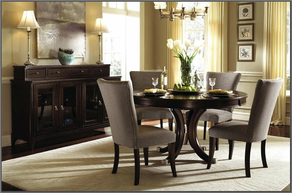 Circle Dining Room Table Set