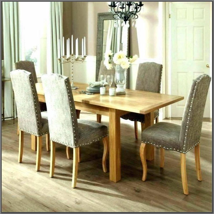 Cloth Covered Dining Room Chairs