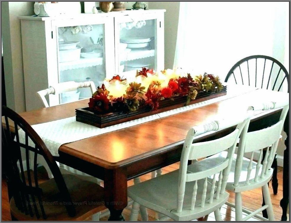 Contemporary Dining Room Table Centerpieces