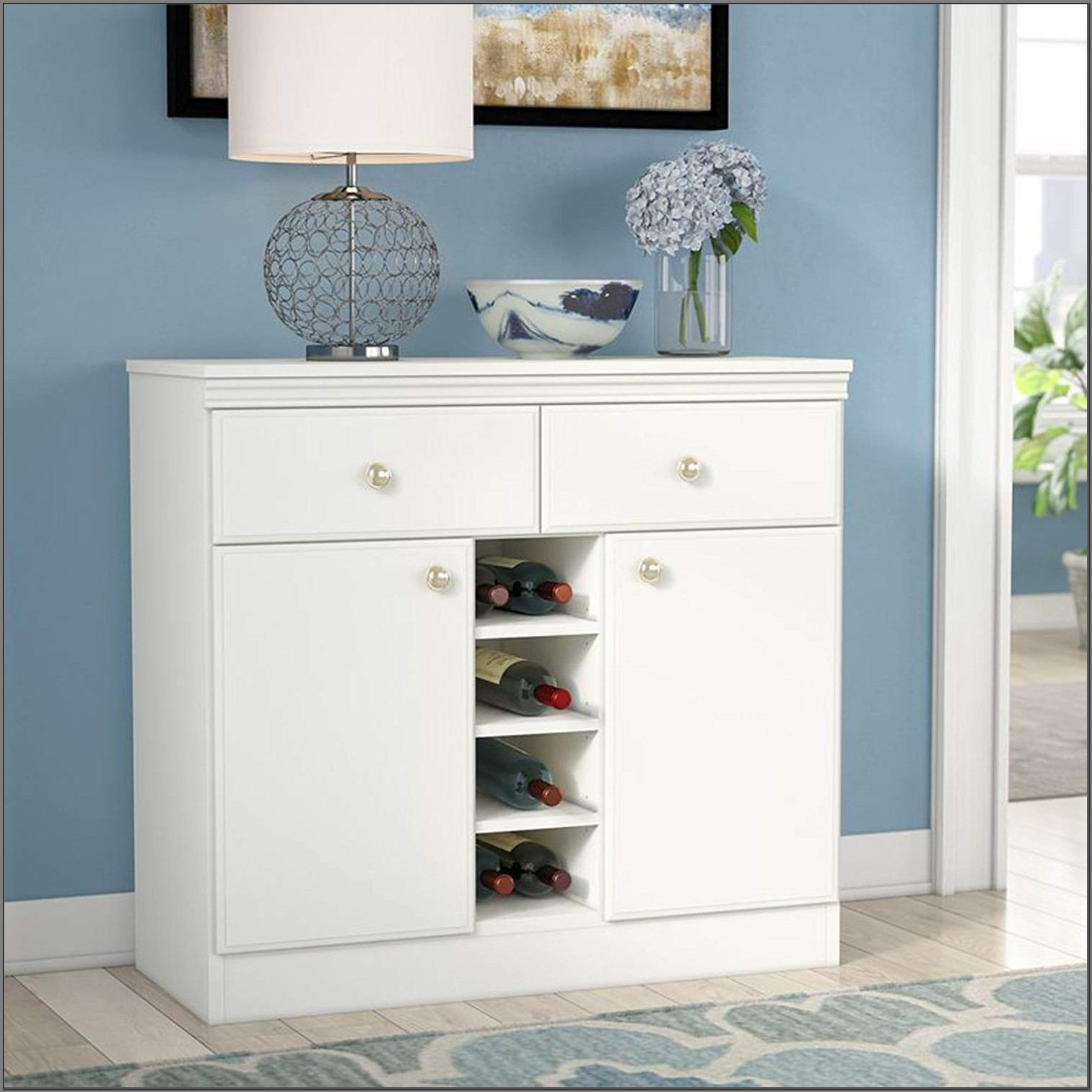 Dining Room Buffet With Wine Storage