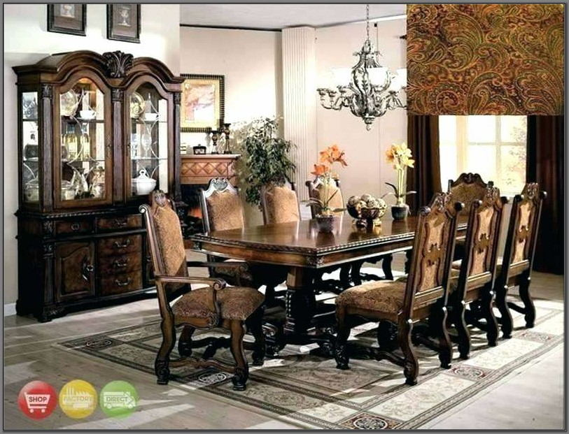 Dining Room Table Set 8 Chairs
