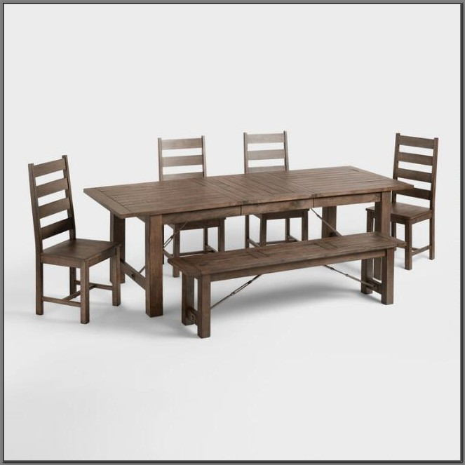 Dining Room Table With Corner Bench