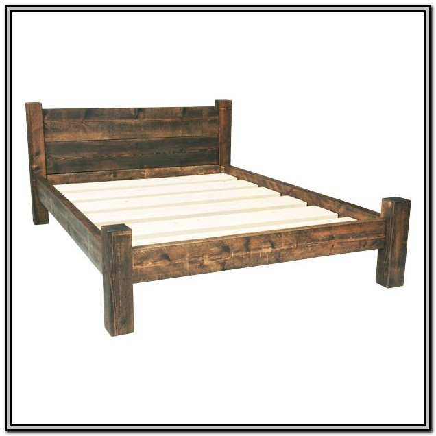 Diy King Size Bed Frame Dimensions